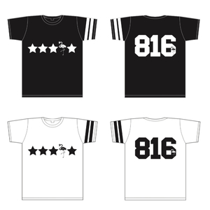 Pile NEWデザインTシャツ(ブラック/ホワイト)