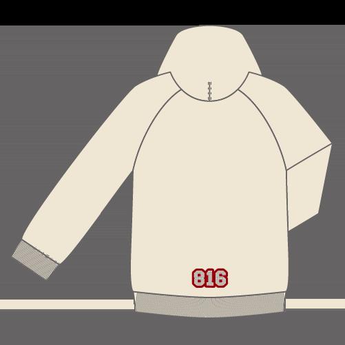 【後日発送】816スワロフスキーパーカー(4色)