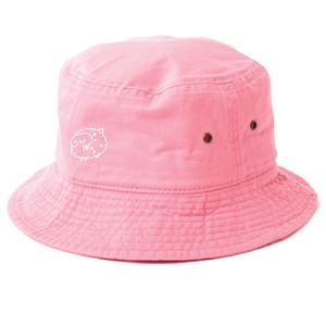 Pileデザイン バケットハット(ボディカラー:ピンク)