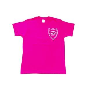 Pileデザイン ちゃんぱいTシャツ(ピンク)